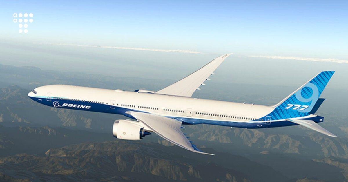 777x First Flight Live