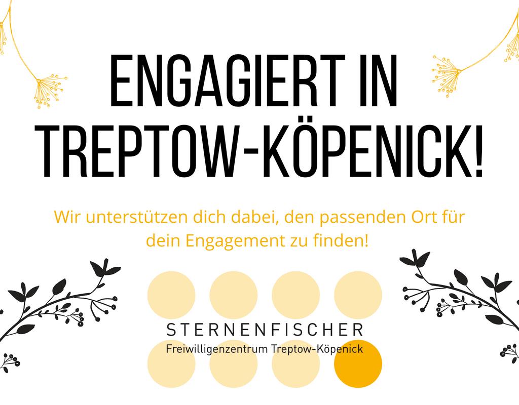 Freiwillig engagiert in Treptow-Köpenick