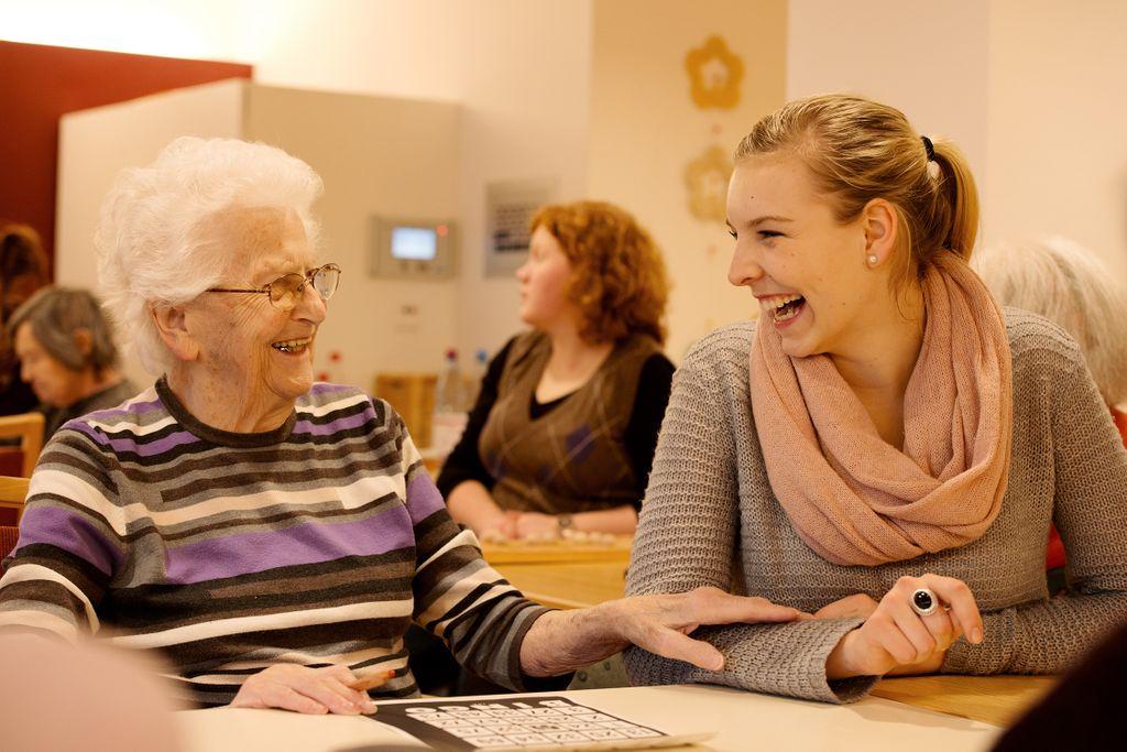 Besuche bei Bewohnern des Dr.- Vöhringer-Heims