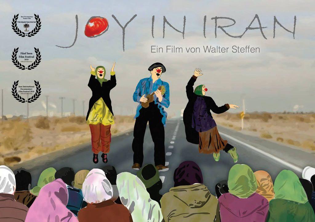 """Kinoabend Tandem-Projekt – """"Joy in Iran"""""""