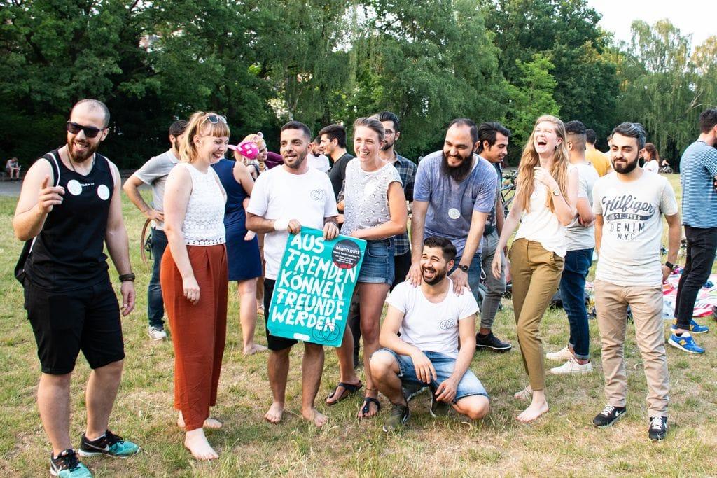 Tandempartner*in für Menschen, die neu in Deutschland sind
