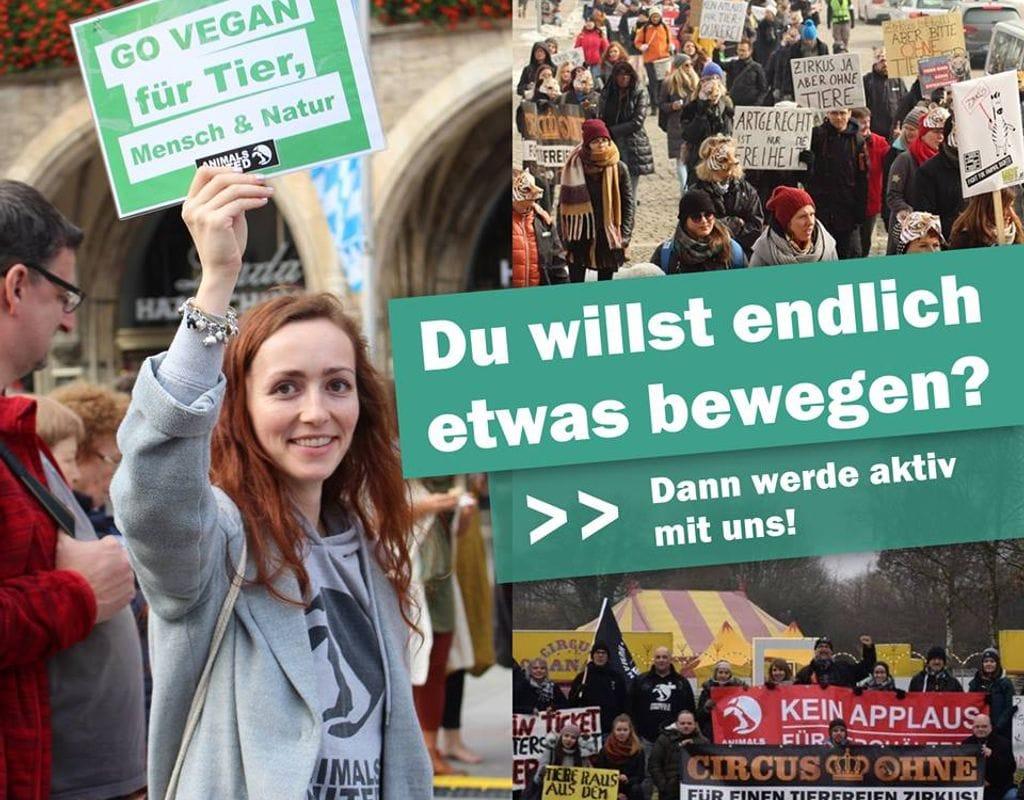 ANIMALS UNITED e.V. Aktionsgruppe München