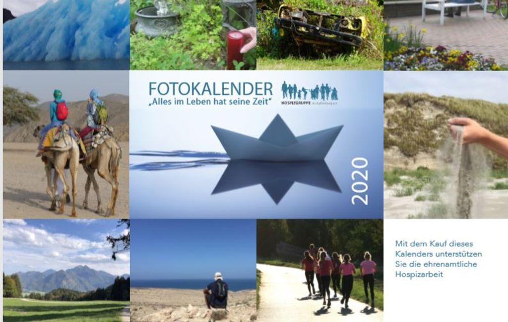 Benefiz Fotokalender 2020 bewerben
