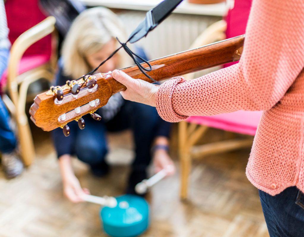 Singen und Musizieren mit Menschen mit Depression
