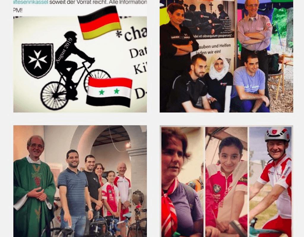 Syrienhilfe: Fahrradkilometer spenden in Kassel