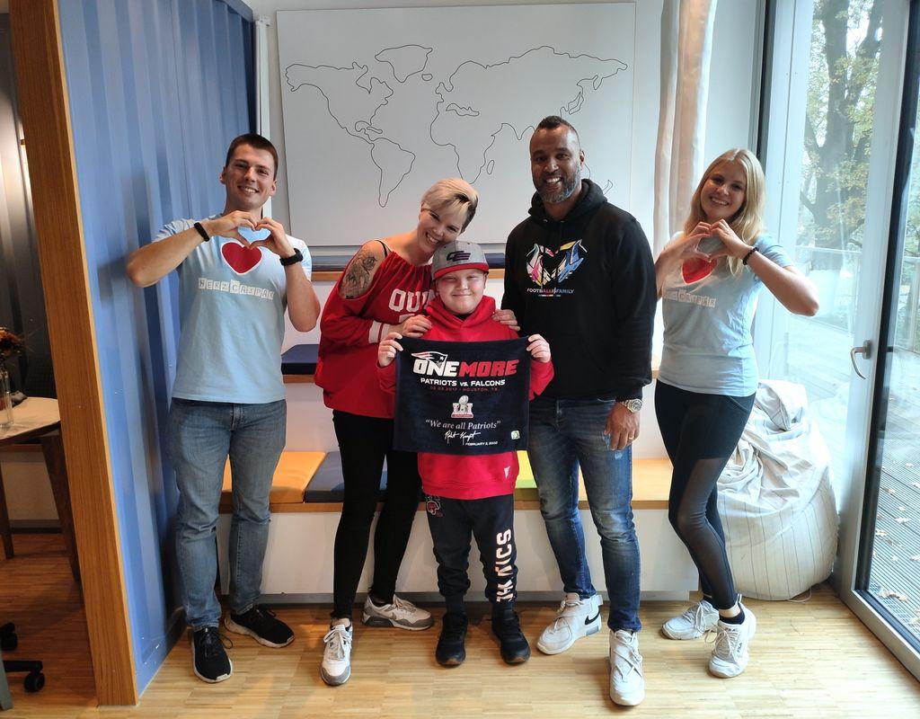 HerzCaspar Buddy - Zeit mit jungen Patienten verbringen