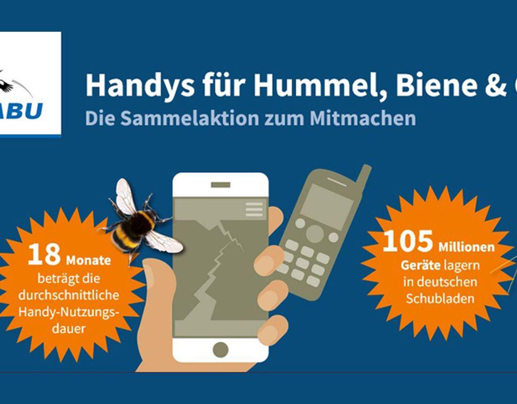 Handys für Hummel, Biene & Co.
