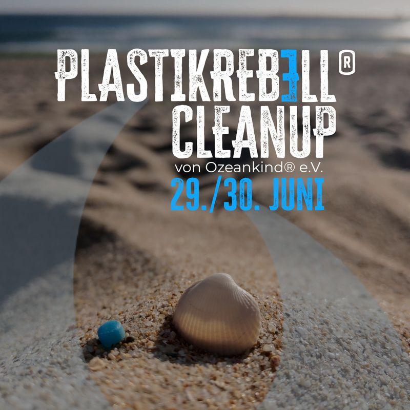 weltweites Plastikrebell® CleanUp im Juni