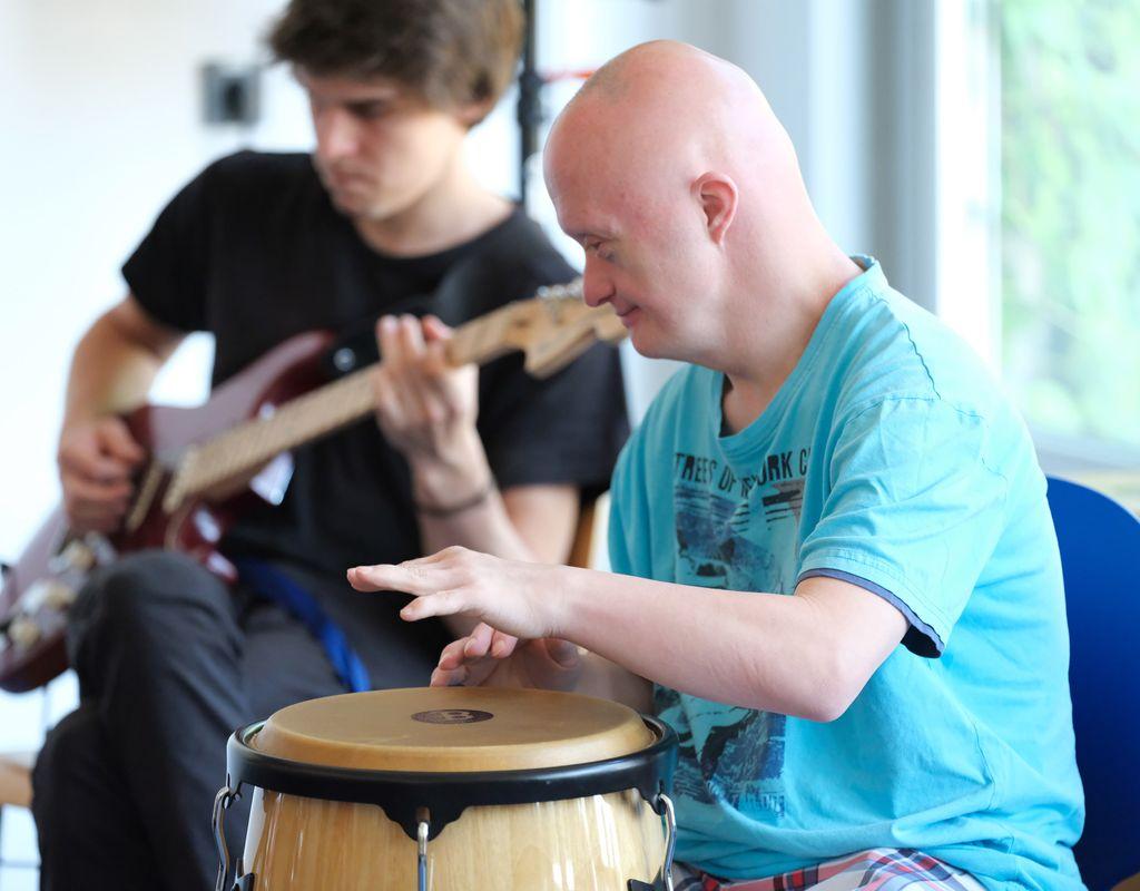 Musikpädagogik Neuerkerode - Bands unterstützen
