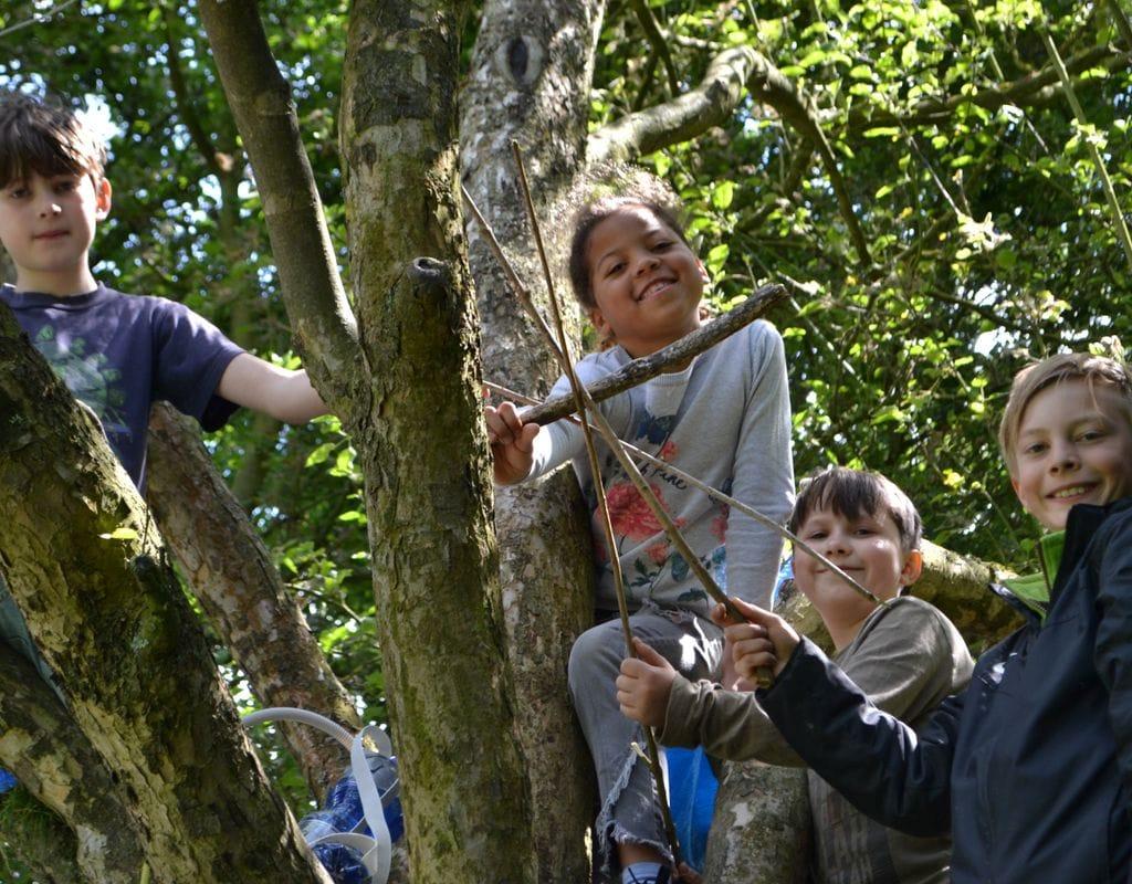 Zeltlager für Kinder - Programmgestaltung und Durchführung