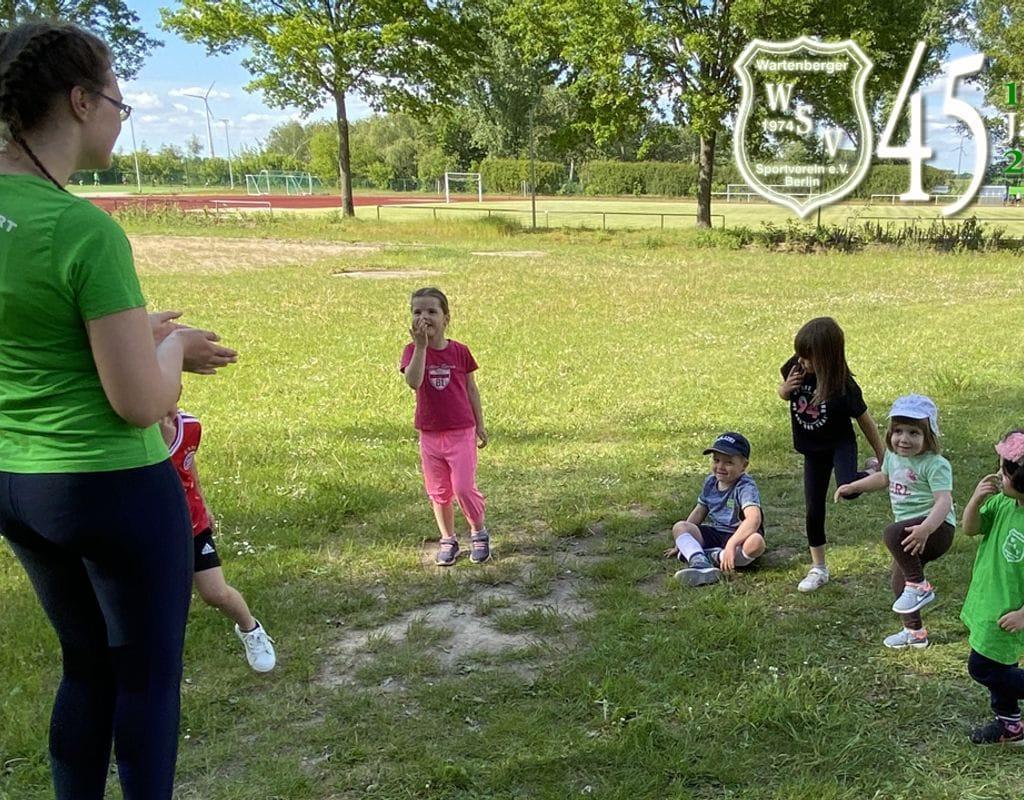 Übungsleiter(in) im Kindersport