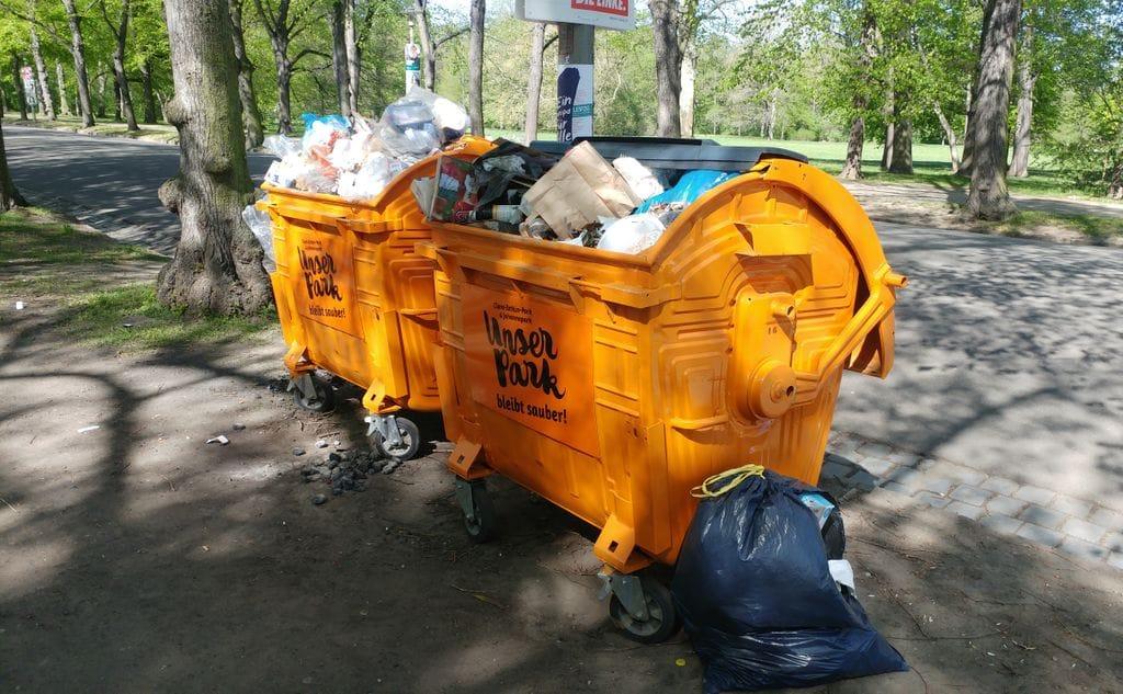 Cleanup Leipzig: Müllsammelaktion am Auensee