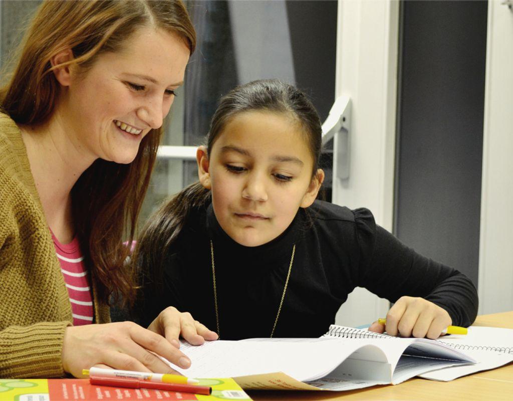 Nachhilfe für strukturell benachteiligte Kinder