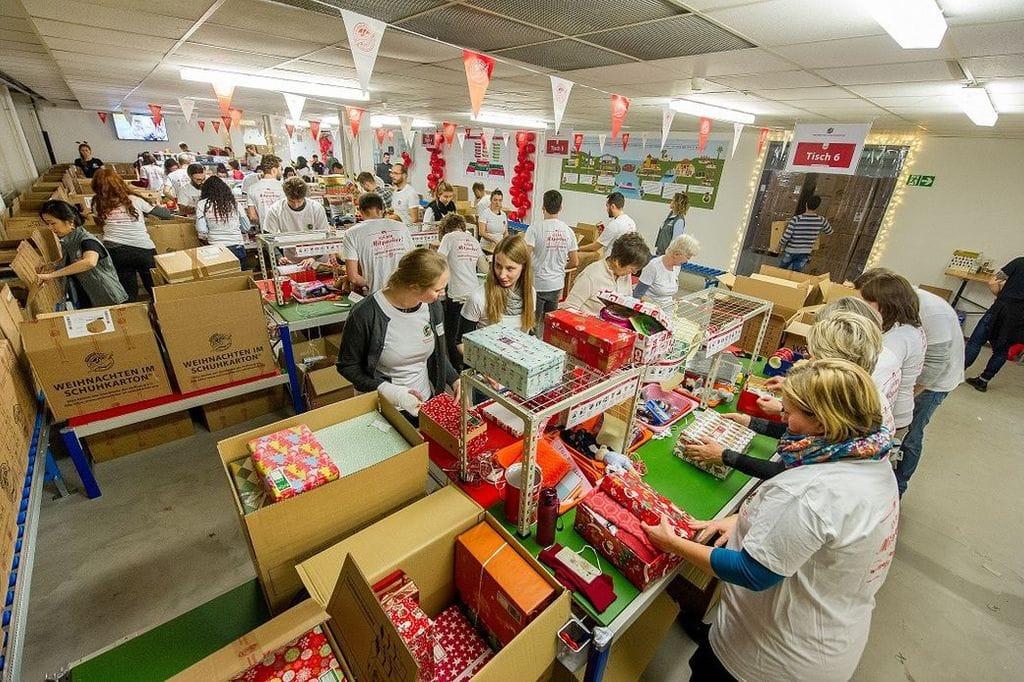 Mitarbeit in der Weihnachtswerkstatt