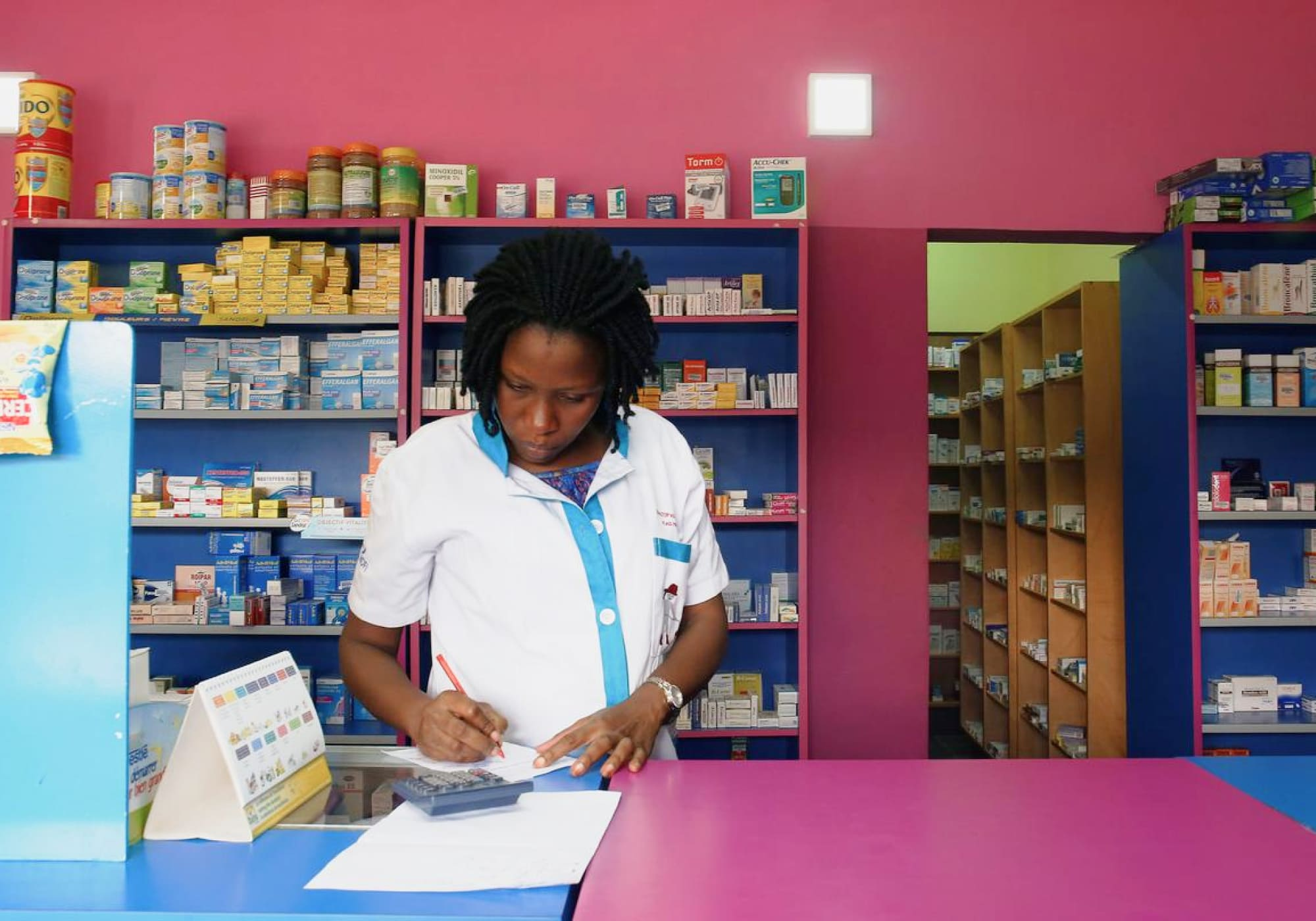 Enable training as a pharmacist