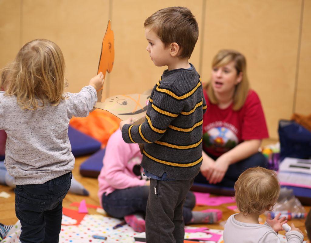 Eltern-Kind-Kurs (3-6 Jahre) leiten