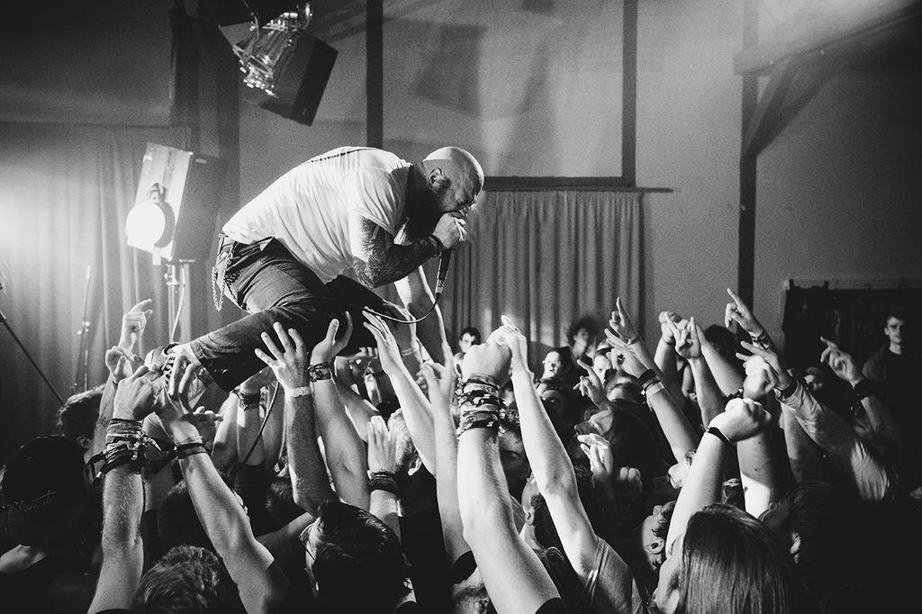 Konzerte mit Metal, Rock und Hardcore in einem CVJM