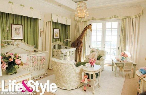 Afbeelding blog 'Tweeling Babykamer van Mariah Carey'