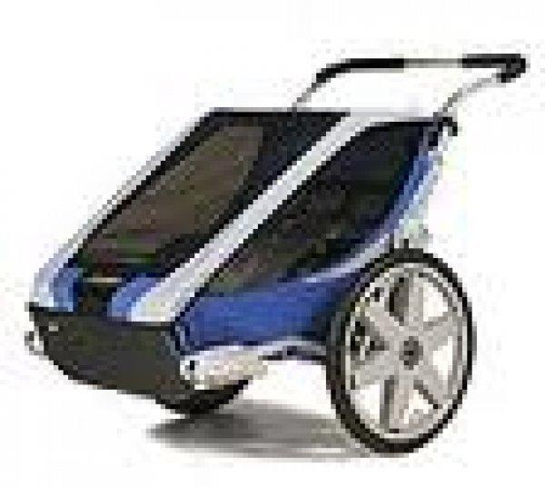 Afbeelding blog 'Chariot Cheetah 2 Blauw/Groen Combi deal'