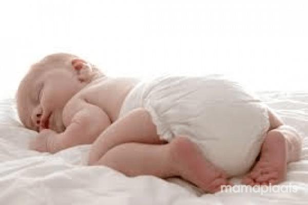 baby slaapt weinig