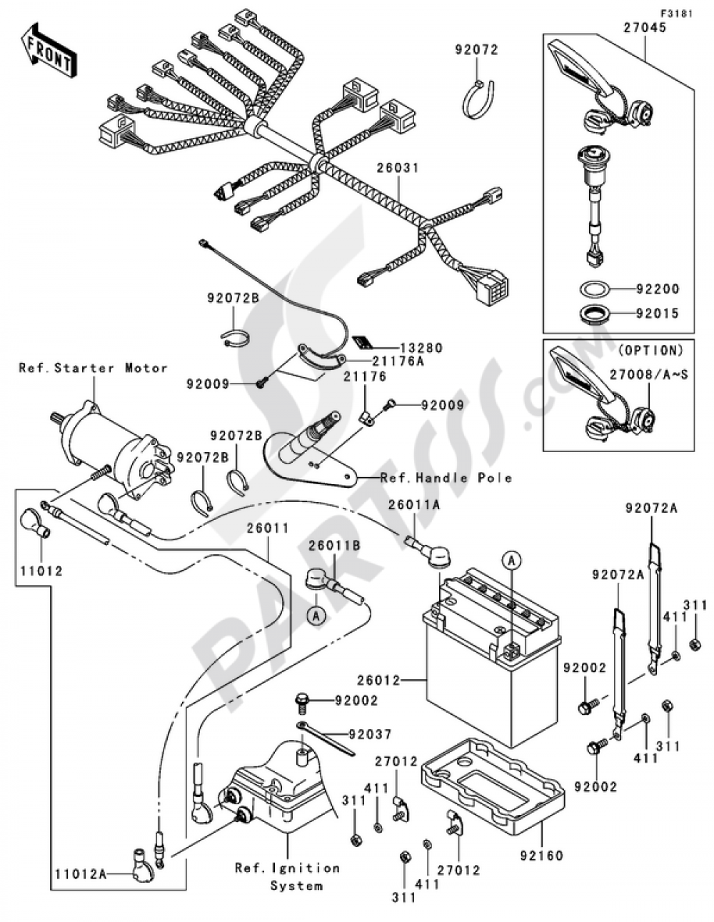 Kawasaki 900 Stx Wiring Diagram - Wiring Schematics on