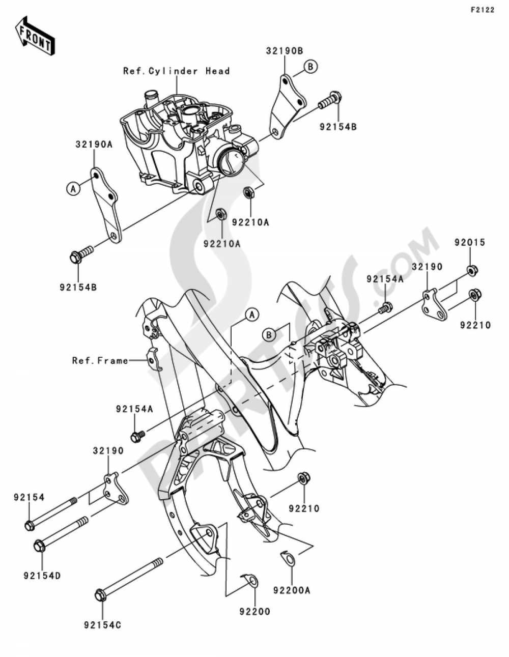Engine Mount Kawasaki Kx250f 2012 Wiring Diagram