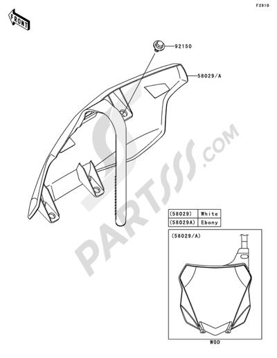 Kawasaki KX250F 2014 Accessory