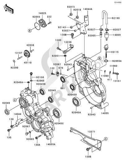 Kawasaki MULE 3000 2006 Gear Box(1/2)