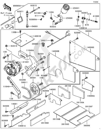 Kawasaki MULE 3000 2006 Optional Parts(1/2)