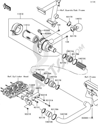 Mule 3010 Diesel Fuel Filter
