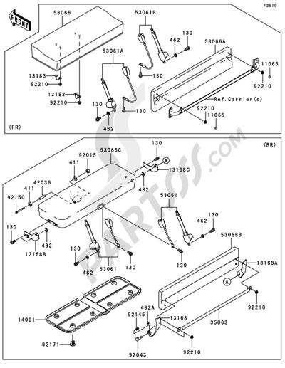 2010 Kawasaki Mule Diesel 3010 Wiring Diagrams