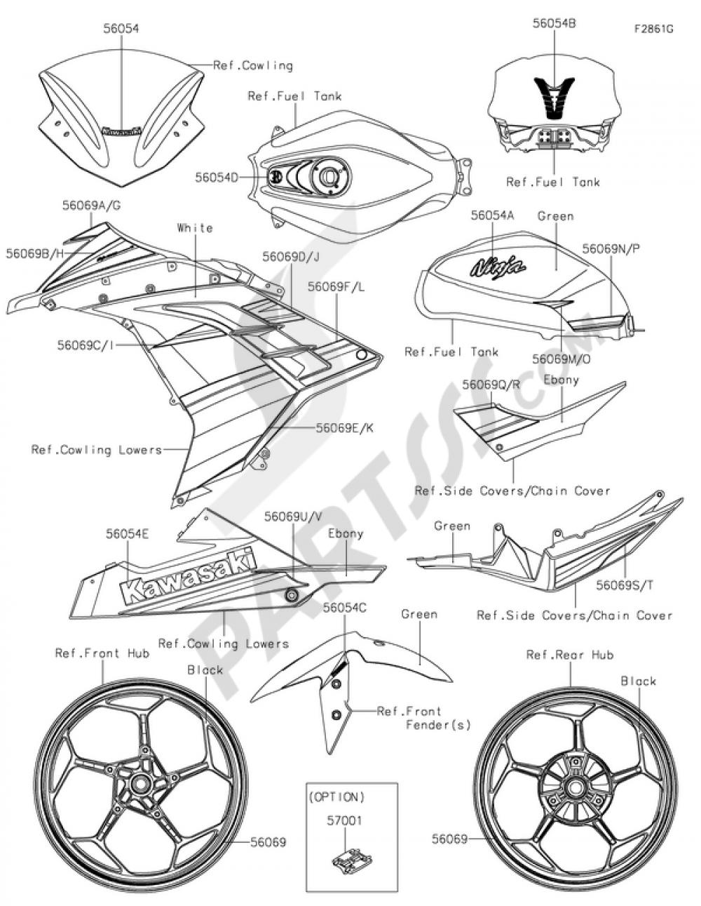 Decalsgreenbffa Kawasaki Ninja 300 Abs 2014 Engine Diagram