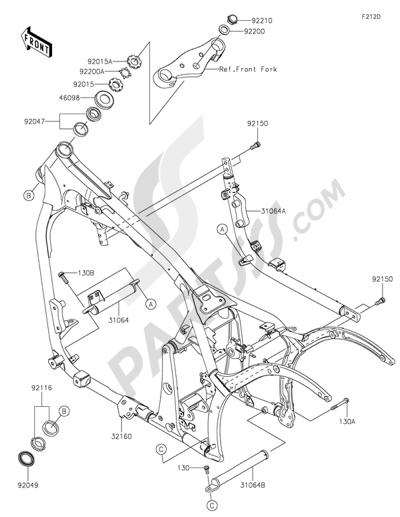 Kawasaki Vulcan 900 Classic 2015 Dissassembly Sheet Purchase