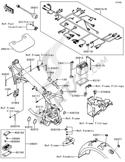Kawasaki W800 Wiring Diagram