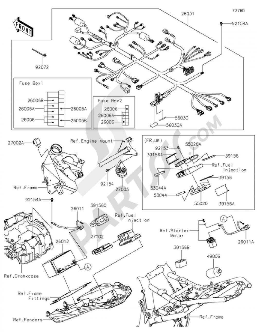Kawasaki Z800 Fuse Box Wiring Diagram Library