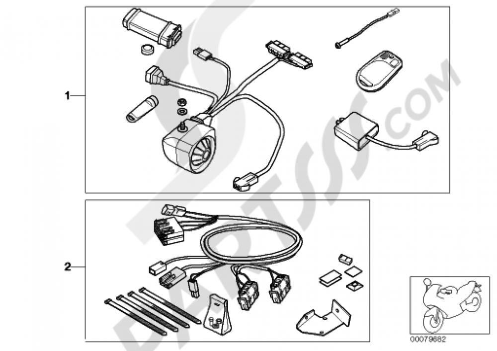 alarm systems bmw f650cs scarver 2003 k14. Black Bedroom Furniture Sets. Home Design Ideas