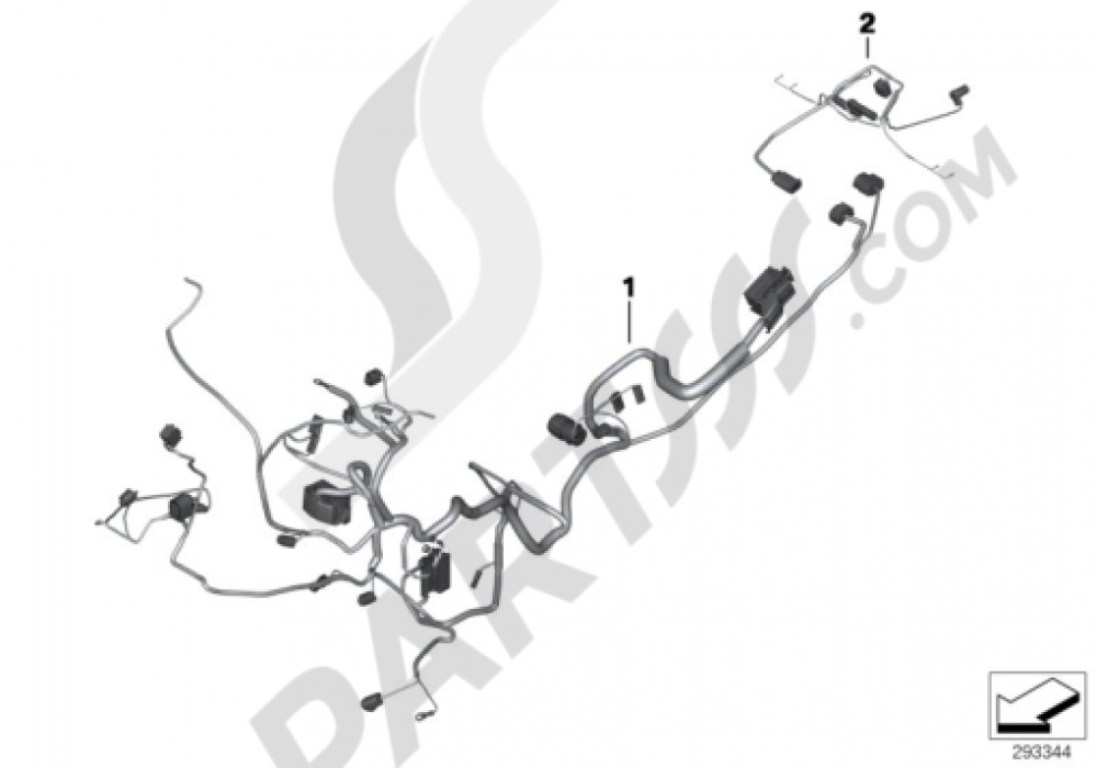 Amazing Main Wiring Harness Bmw F800Gs Adventure 2013 2015 K75 Wiring Database Redaterrageneticorg