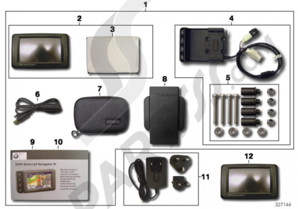 bmw motorrad navigator iv bmw f800gt f800gt k71. Black Bedroom Furniture Sets. Home Design Ideas