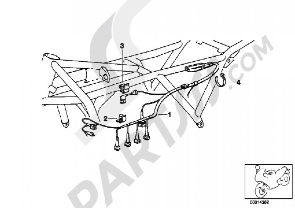 Bmw K100 Wiring Harness