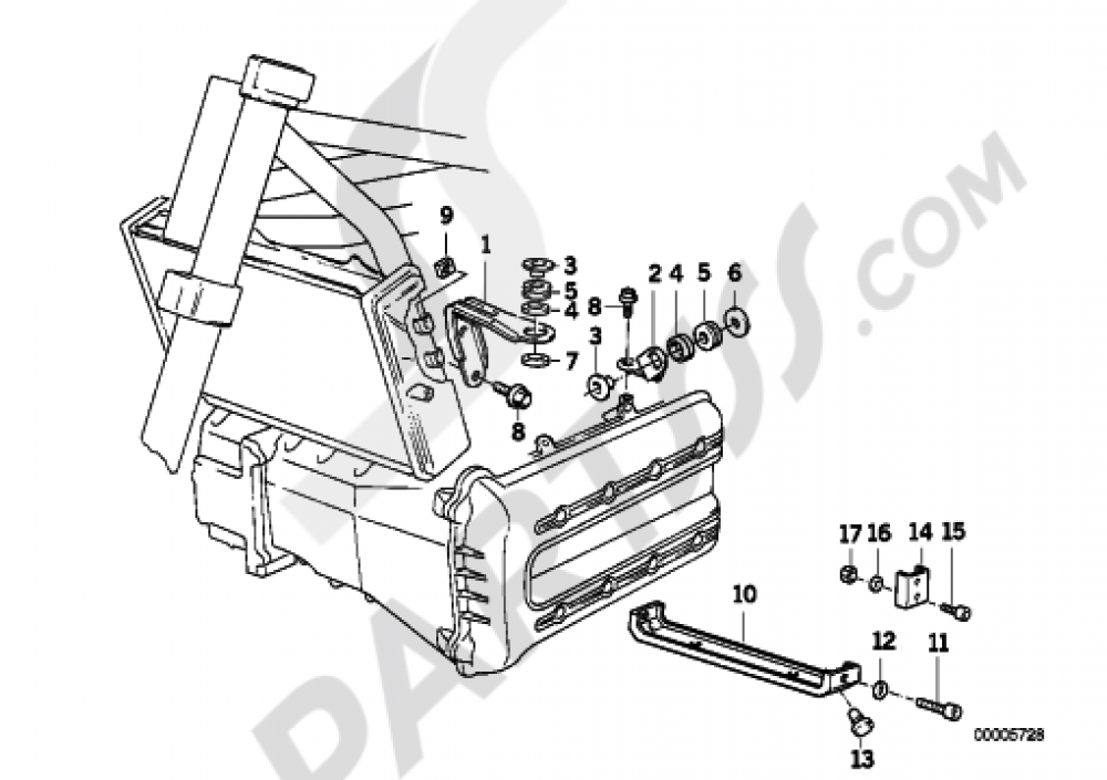 Fairing Bracket Bmw K1100rs K1100rs 89v2