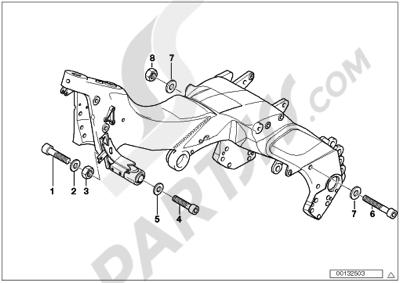 Bmw K1200LT 1999-2004 (89V3) Dissassembly sheet  Purchase genuine