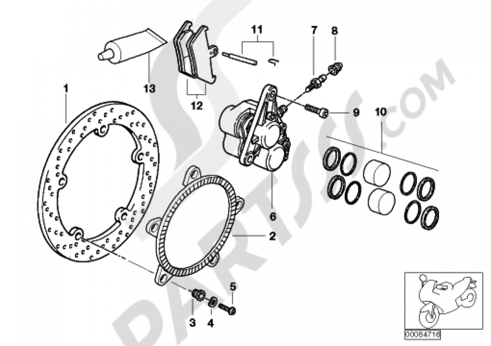Bmw R1200c Parts Diagram
