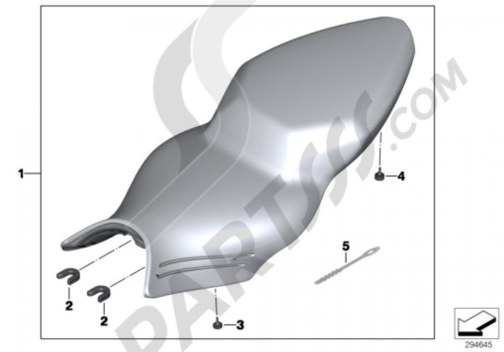 BENCH SEAT Bmw K1300S K1300S (K40)