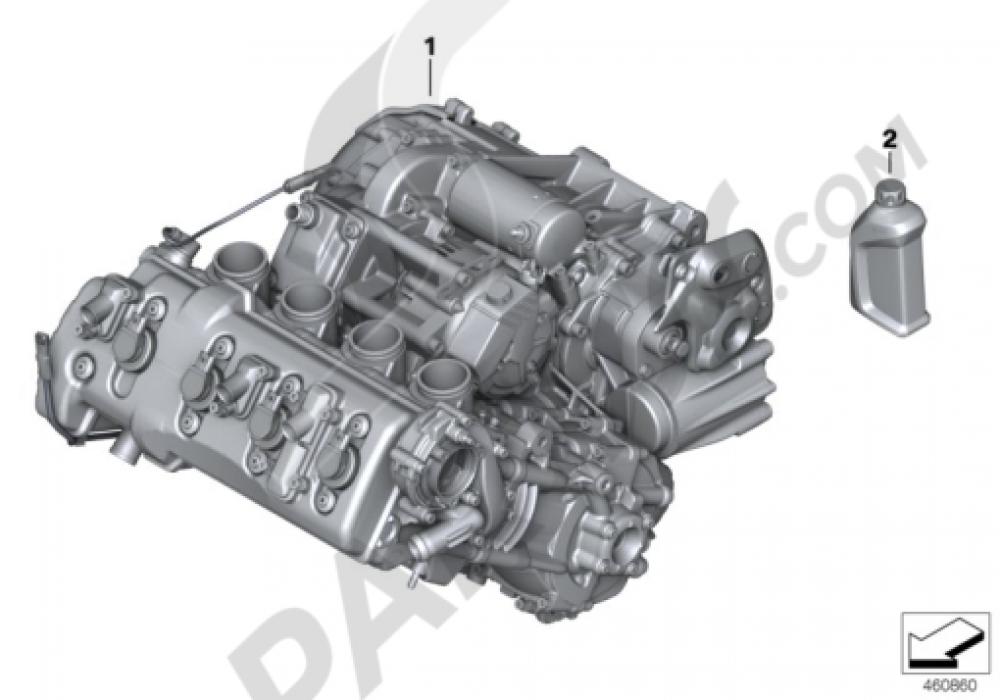 ENGINE Bmw K1300S K1300S (K40)