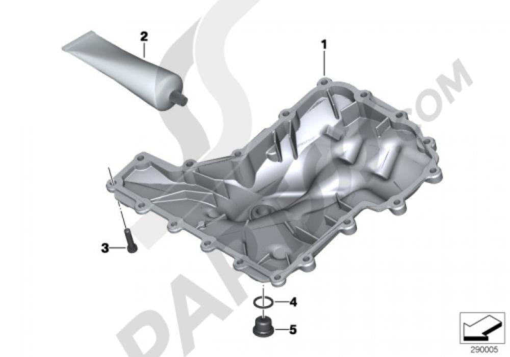 OIL PAN Bmw K1300S K1300S (K40)