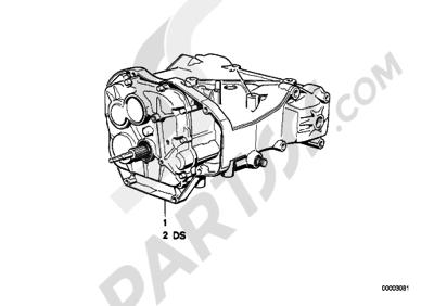 Bmw K75 K75 (K569) 5-GEAR TRANSMISSION
