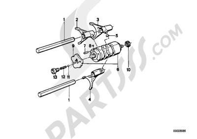 Bmw K75 K75 (K569) 5-SPEED TRANSMISSION - GEARSHIFT