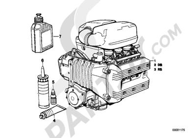 Bmw K75 K75 (K569) ENGINE