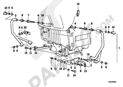 Bmw K75 K75 (K569) ENGINE PROTECTION BAR