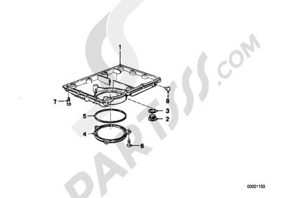 Bmw K75 K75 (K569) OIL PAN